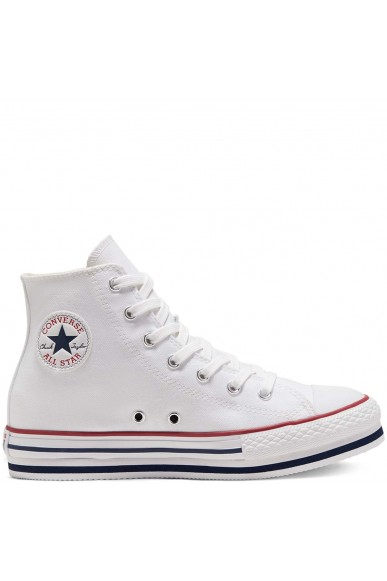 Converse Sneakers F.gomma Chuck taylor all star eva lift Bambino Bianco Fashion