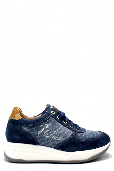 1^classe  Sneakers F.gomma 35/40 Donna Jeans Fashion