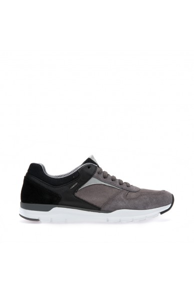 Geox Sneakers F.gomma Calar Uomo Anthracite/black Casual