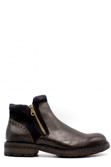 Brecos Stivaletti F.gomma 40-45 made in italy Uomo Cioccolato Fashion