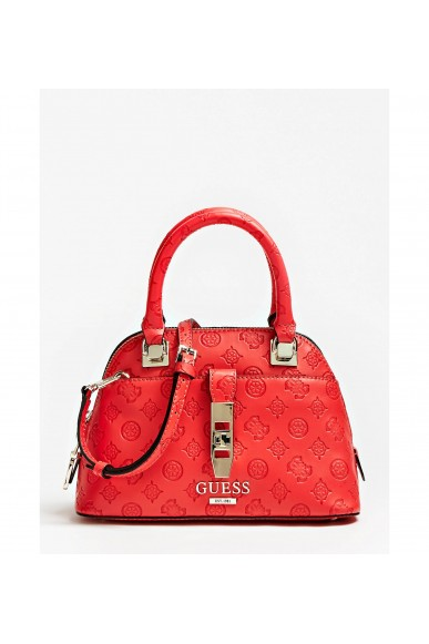 Guess Borse   Peony classic sml dome satchel Donna Rosso Fashion