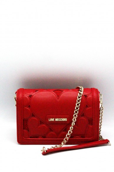 Moschino Pochette - Tracollina love 2018 jc4056pp15 Donna Rosso Fashion