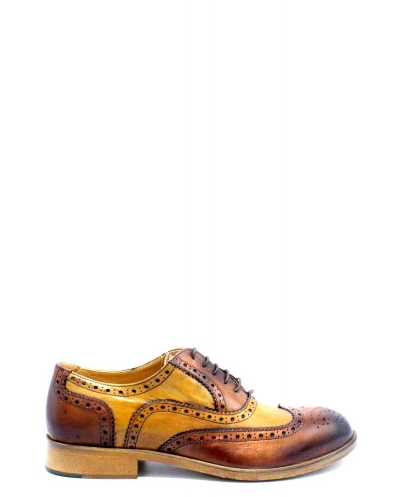 Exton Duilio F.cuoio 39/46 made in italy 5352 Uomo Legno Fashion