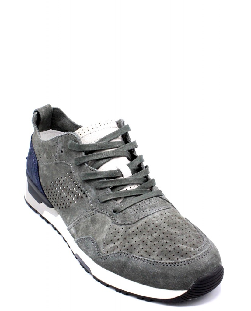 Crime london Sneakers F.gomma 40-45 11425ks1.30 ss18 Uomo Grigio Casual