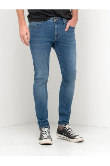 Lee Jeans Uomo Blu Casual