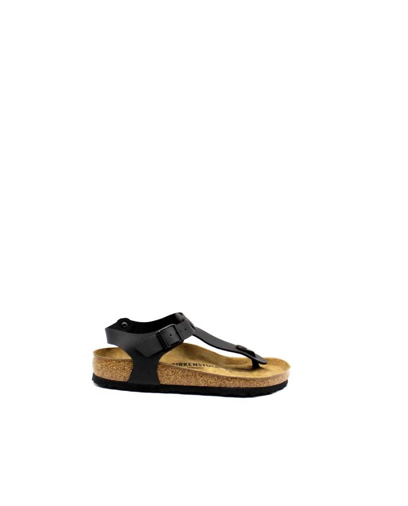 Birkenstock Sandali F.gomma Kairo bi-classic Donna Nero Fashion