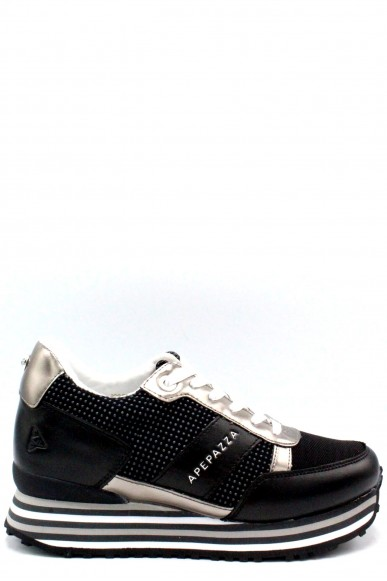Ape pazza Sneakers F.gomma 35/41 Donna Nero Fashion