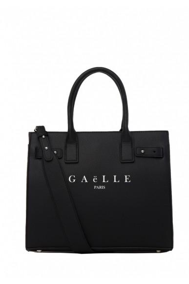 Gaelle paris Borse   Borsa+stampa Donna Nero Fashion