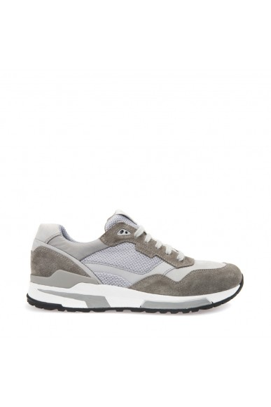 Geox Sneakers F.gomma Goomter Uomo Ice/grey Casual