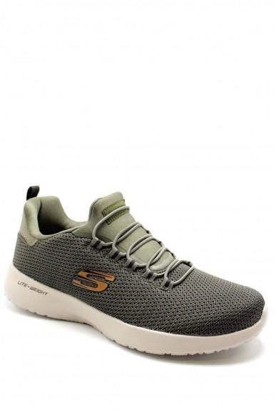 Skechers Sneakers F.gomma 40-45 58360 Uomo Verde Casual