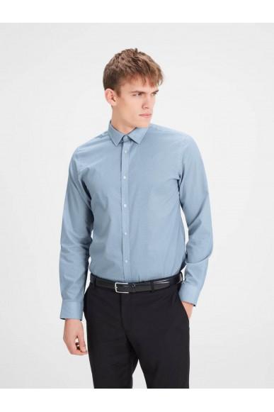 Jackejones Camicie Uomo Blu Casual