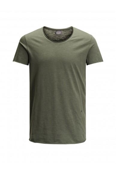 Jackejones T-shirt Uomo Verde Casual