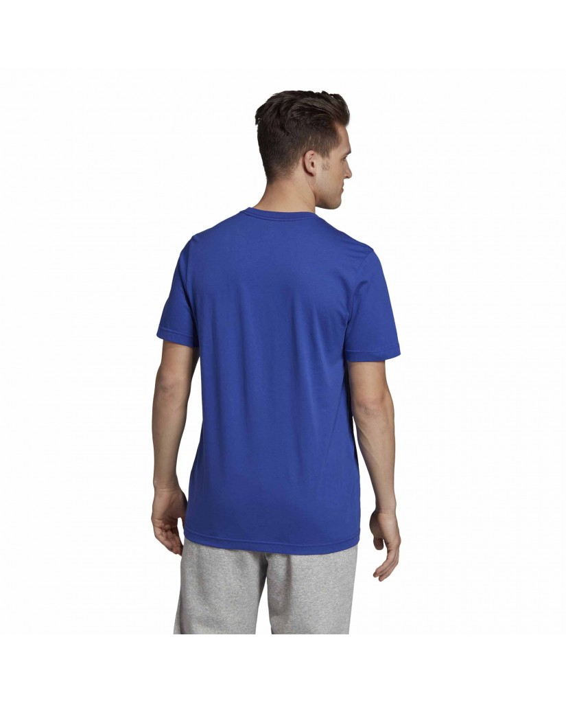 Adidas T-shirt   E lin brush t       actblu Uomo Blu Sportivo