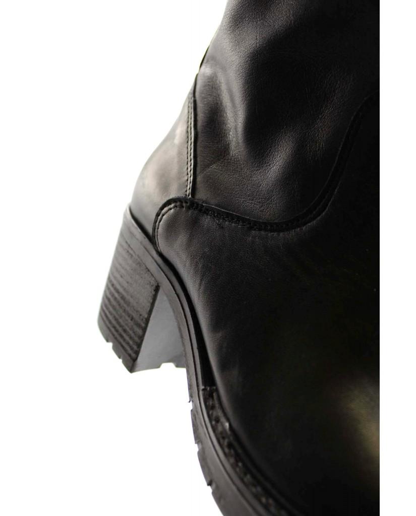 Euroshoes Stivali F.gomma F41 made in italy Donna Nero Fashion
