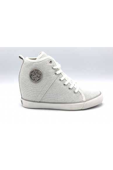 Guess Sneakers F.gomma 35/41 Donna Argento Fashion