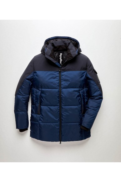 Refrigiwear Giubbotti Night down jacket Uomo Blu Casual