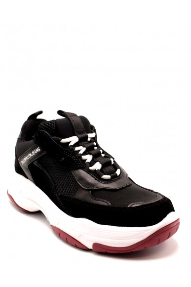 Calvin klein Sneakers F.gomma 36-41 Donna Nero Fashion