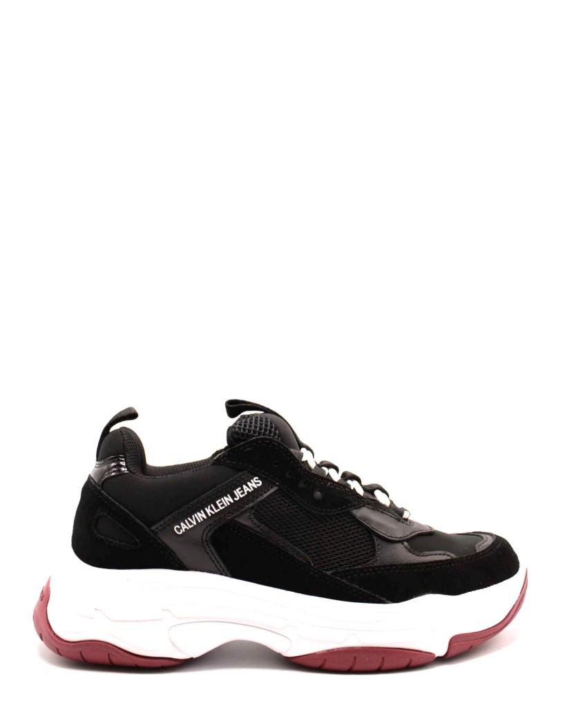 Calvin klein Sneakers F.gomma Donna Nero Fashion