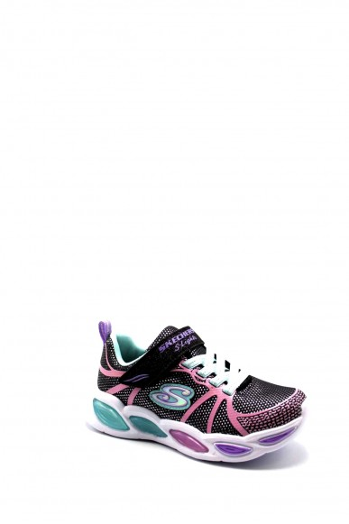 Skechers Sneakers F.gomma 27-34 302042l Bambino Nero Casual