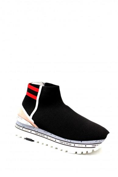 Liu.jo Sneakers F.gomma 36/41 maxi alexa 4 Donna Nero Fashion