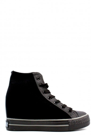 Cafe' noir Sneakers F.gomma 35-40 Donna Nero Fashion