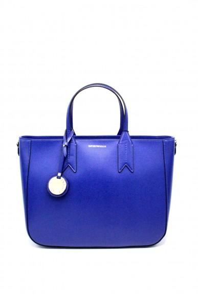 Emporio armani Borse - Tote bag dandelion y3d082 yh15a Donna Bluette/cuoio Fashion