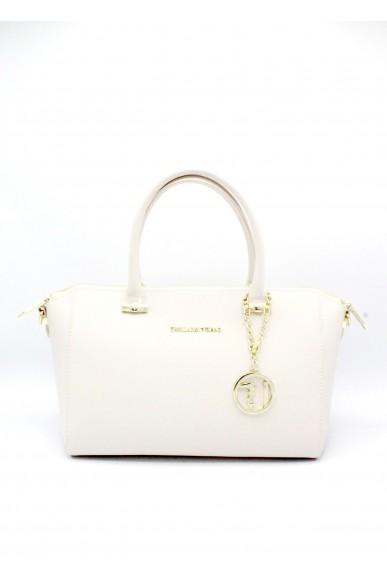 Trussardi Borse . borsa a mano con tracolla Donna Bianco Fashion