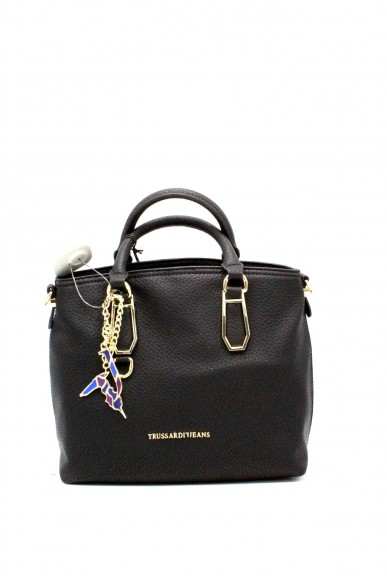 Trussardi Borse - Carrie ecoleather smooth shopping bag Donna Nero Fashion