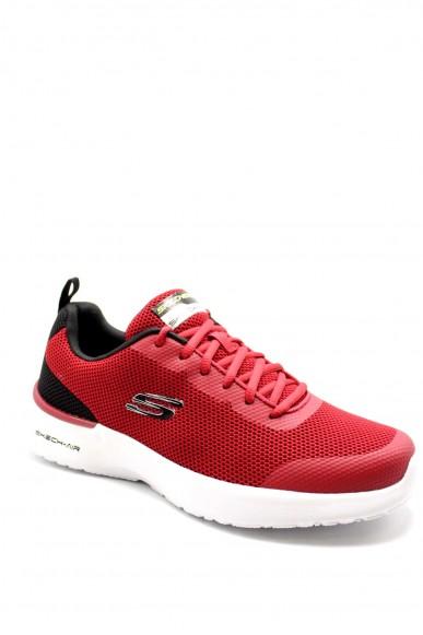 Skechers Sneakers F.gomma 40-45 232007 Uomo Rosso Casual