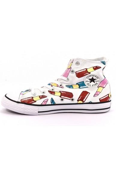 Converse Sneakers F.gomma 27/38 Bambino Bianco-nero Sportivo