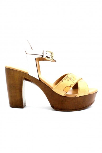 1^classe  Sandali F.gomma 35/41 Donna Bianco Fashion