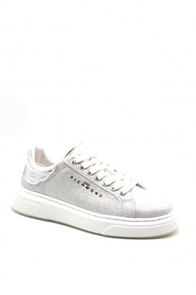 Richmond Sneakers F.gomma 36-41 Donna Silver