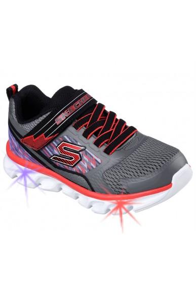Skechers Sneakers F.gomma 27/35 Bambino Grigio Sportivo