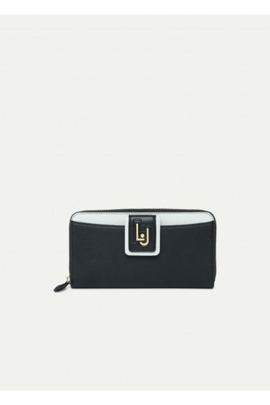 Liu.jo Portafogli - I zip around Donna Nero Fashion
