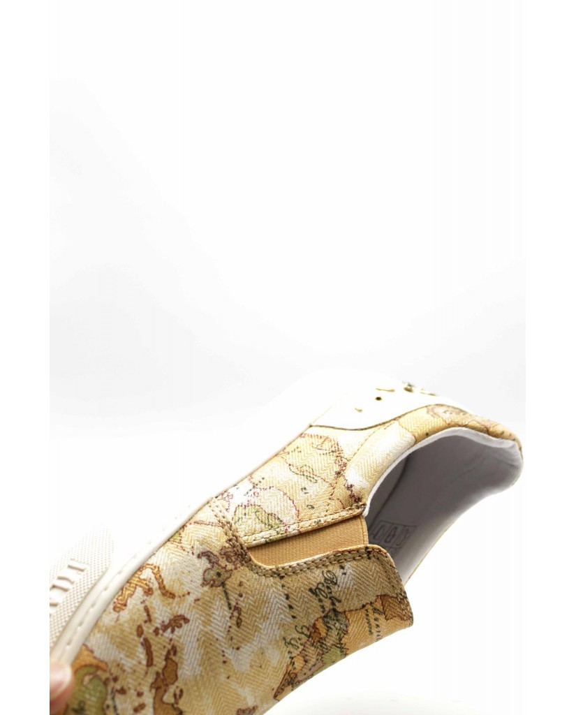 1^classe  Slip-on F.gomma N0199 Donna Beige Fashion