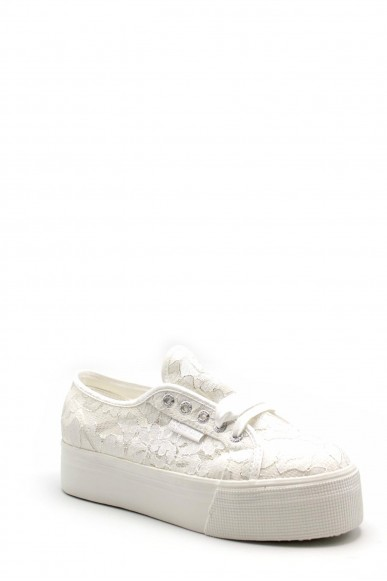 Superga Sneakers F.gomma S00eh10 Donna Bianco Sportivo