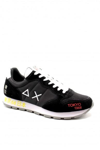 Sun68 Sneakers F.gomma 41-46 z30103 Uomo Nero Fashion