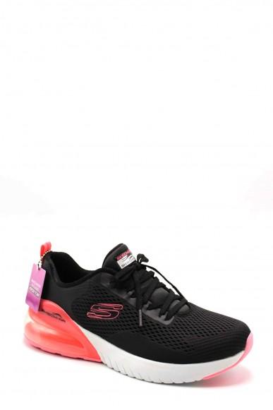 Skechers Sneakers F.gomma 36-41 13278 Donna Nero Casual
