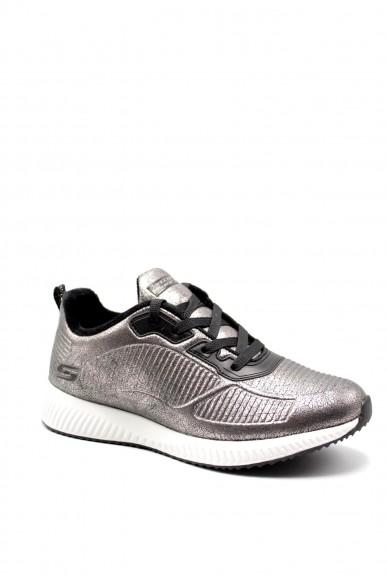 Skechers Sneakers F.gomma Bobs squad - sparkle life Donna Grigio Sportivo