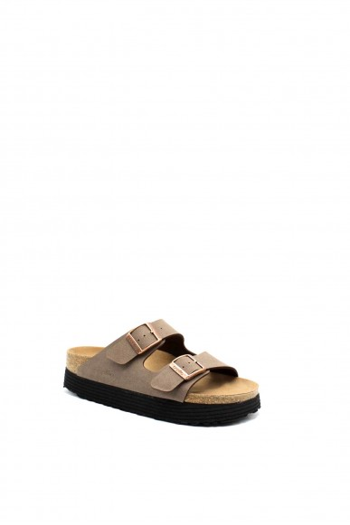 Birkenstock Sandali F.gomma Arizona bi-papilli Donna Marrone Fashion