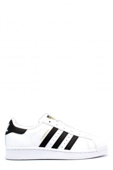 Adidas Sneakers F.gomma 35/41 superstar Donna Bianco-nero Sportivo