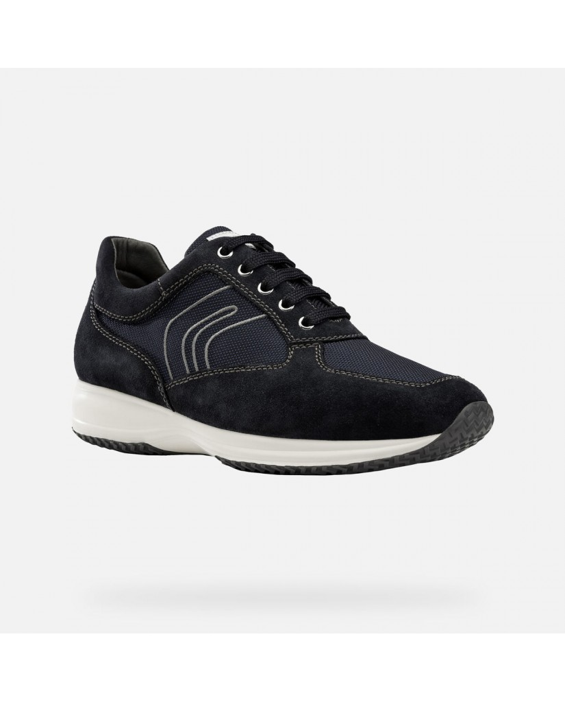 Geox Calzature geox   U happy g - suede+textile Uomo Navy