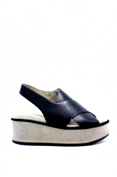 Elvio zanon Sandali F.gomma 36/41 Donna Nero-sabbia Fashion