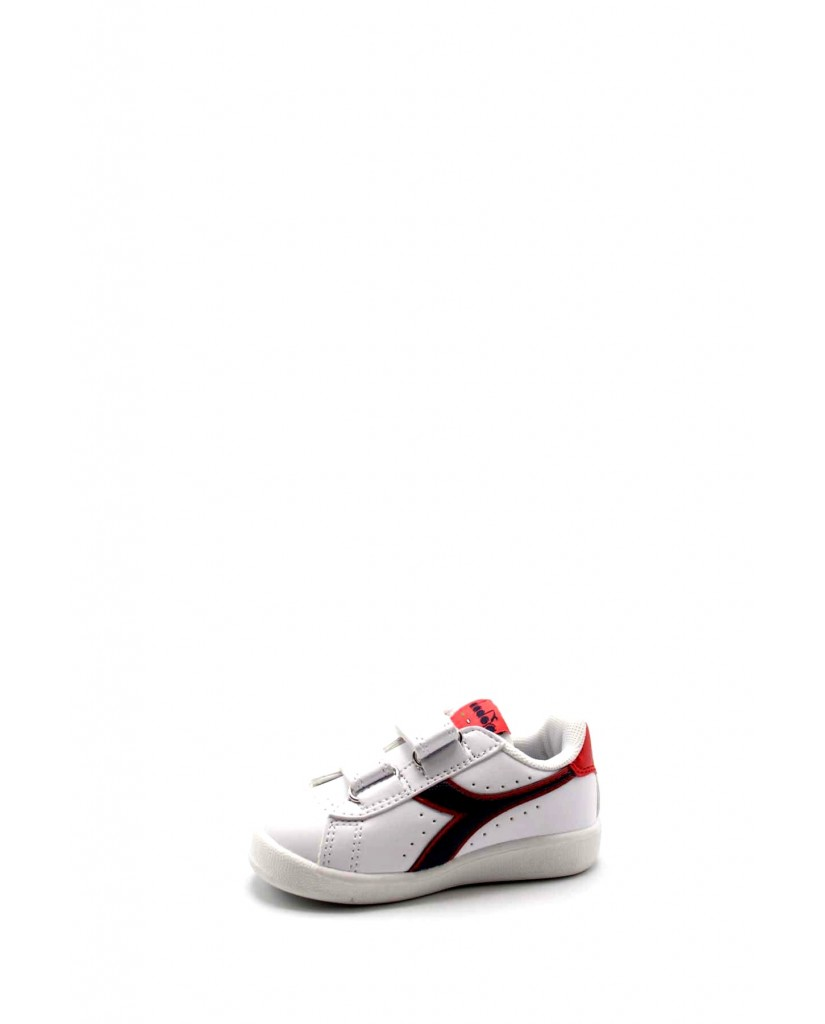 Diadora Sneakers F.gomma Game p td Bambino Bianco-blu Sportivo