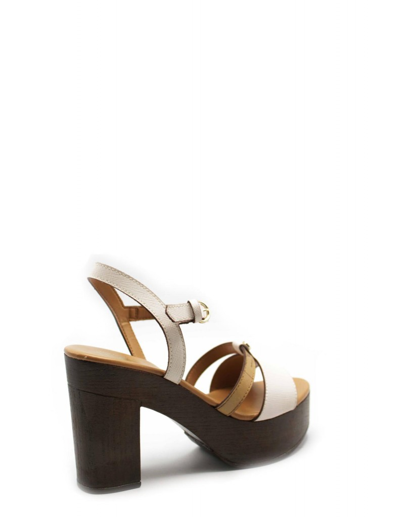 1^classe  Sandali F.gomma Ze911 Donna Bianco Fashion