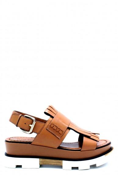 Elvio zanon Sandali F.gomma 36/41 h3703p made in italy Donna Cuoio Fashion