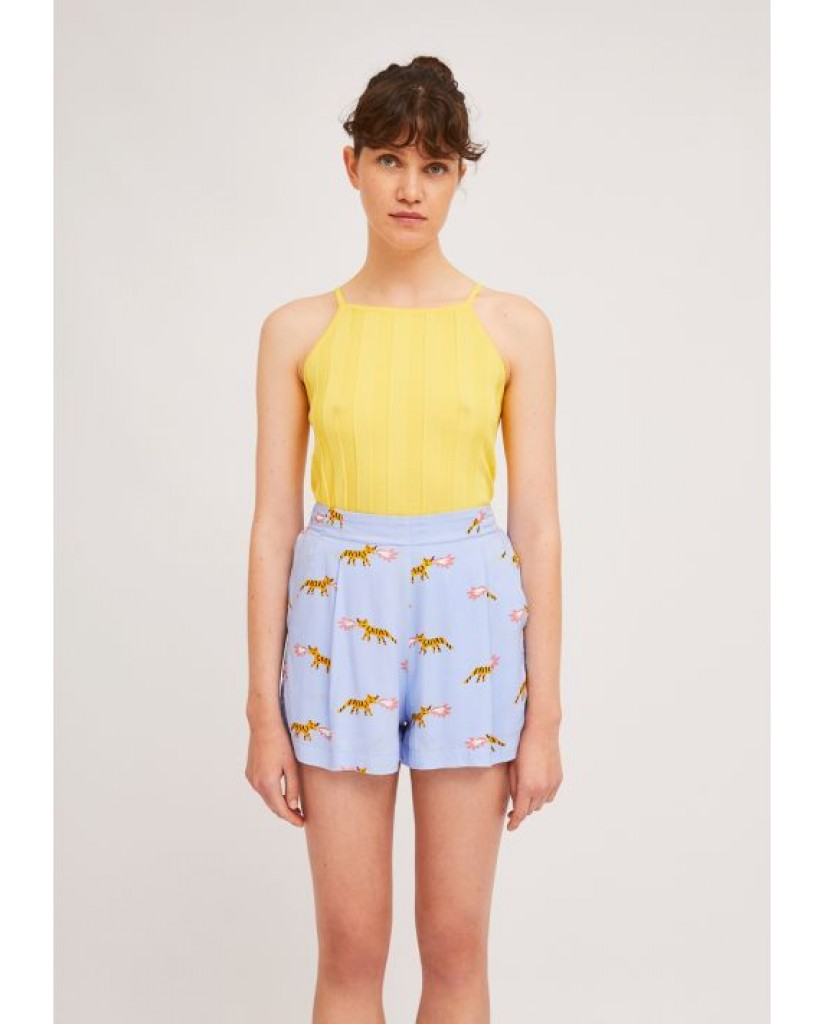 Compagnia fantastica Shorts   Ss21she43 Donna Blu Fashion