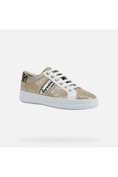 Geox Calzature geox   D pontoise d - shi.sue+met.syn Donna Sand/lt gold