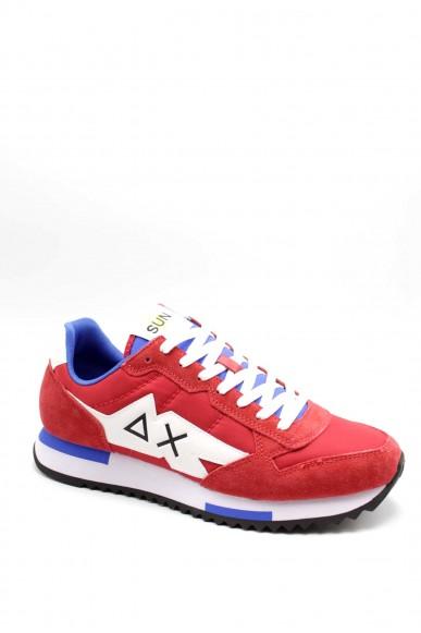 Sun68 Sneakers F.gomma 40-46 Uomo Rosso Sportivo