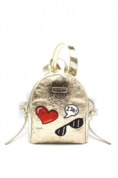 Moschino Backpacks - Zainetto nuova collezione Donna Oro Fashion